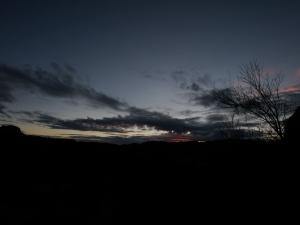 sunset yesterday.