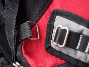 shoulder straps dedicated for one purpose. removable as shown.