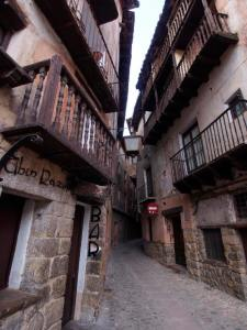 Pretty neat narrow streets. As a whole, the town has been inhabited since the 12th century.