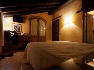 This is the room for our 4th night in Albarracin.