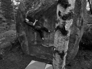 La forét bouldering.