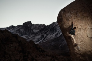 Just after the crux... Saigon, Buttermilks.