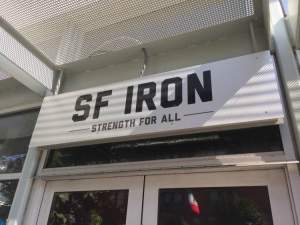 SF Iron, an awesome training facility with awesome instructors